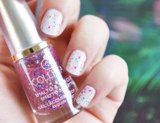 collistar nail lacquer top coat topcoat confetti effect 3 - Collistar nail lacquer & top coat confetti effect