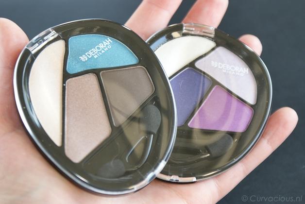 Deborah Milano | Quad eyeshadow Total Purple & Turquoise Touch