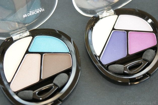 Deborah Milano | Quad eyeshadow Total Purple & Turquoise Touch