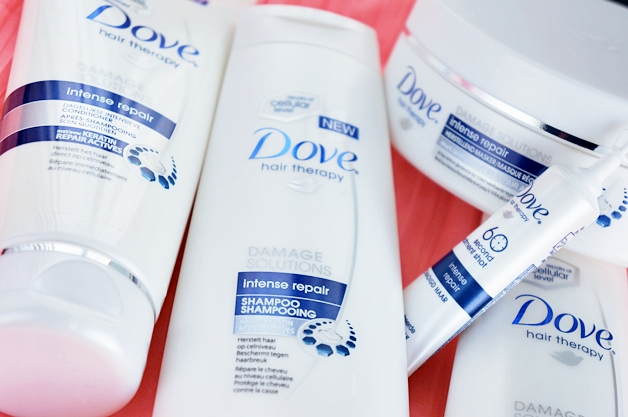 dove intense repair winactie 1 - Dove Intense Repair lijn