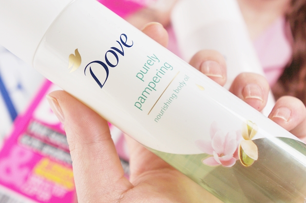 dove purely pampering nourishing body oil 2 - Dove purely pampering body oils