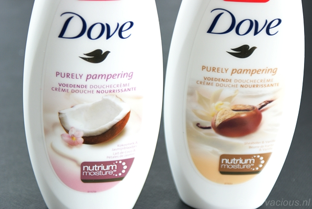 dovepamperingshowergel3 - Dove | Purely Pampering voedende douchecrèmes