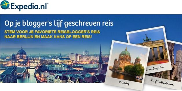 expedia1 - Stem & maak kans op een reis naar Berlijn!