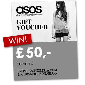 fashiolista - Winactie: Win een ASOS cadeaubon!