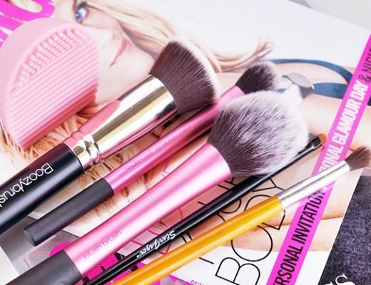 favoriete make-up kwasten & kwasten wassen