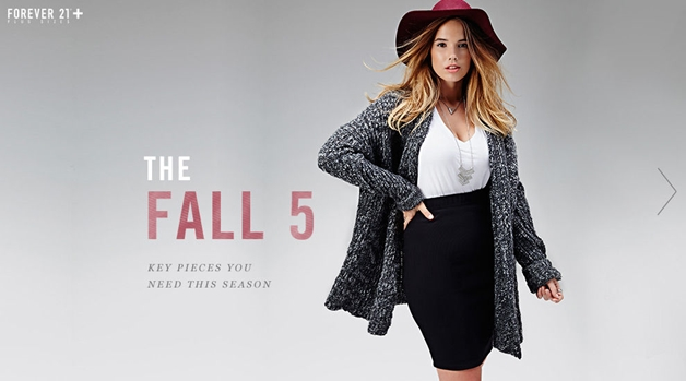 forever 21 herfst 2014 1 - Pre-fall plussize outfit & Forever21 fall lookbook