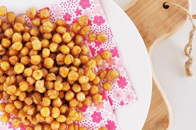 geroosterde kikkererwten recept 3 - Geroosterde kikkererwten (healthy snacktip)