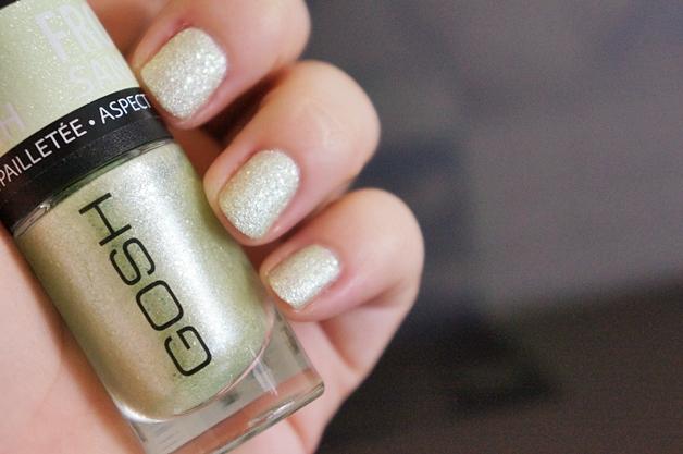 gosh frosted nail lacquer 4 - GOSH frosted nail lacquer