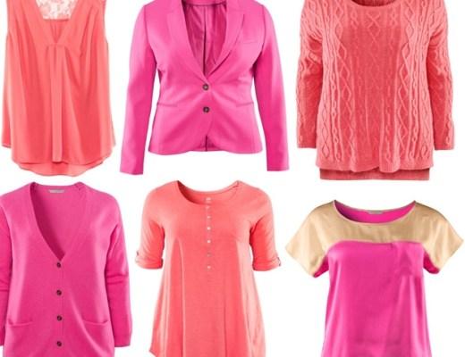 hmpinkscorals - H&M+ | Bright pinks & corals voor de herfst/winter