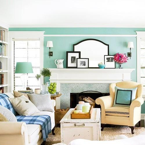 home deco turquoise12 - Inspiratie | Turquoise als accentkleur in je huis