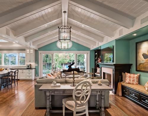 Inspiratie turquoise als accentkleur in je huis feel good lifestyle beauty - Deco buitenkant huis ...