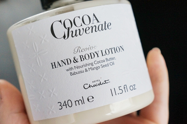 hotel chocolat cocoa juvenate revive hand body lotion3 - Cocoa Juvenate revive hand & bodylotion