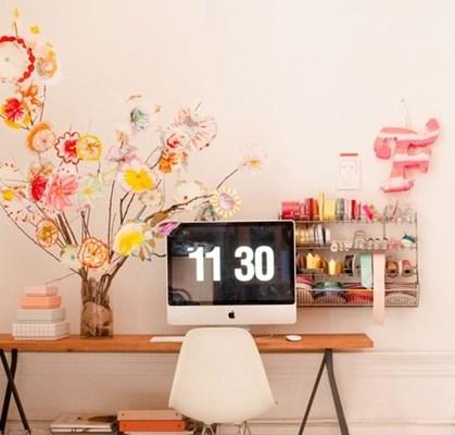 interieur kantoor inspiratie 1 - Interieur inspiratie voor je kantoor/werkkamer