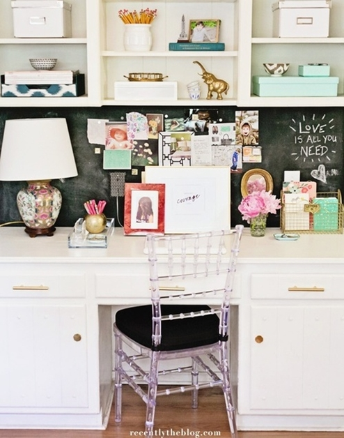 interieur kantoor inspiratie 19 - Interieur inspiratie voor je kantoor/werkkamer