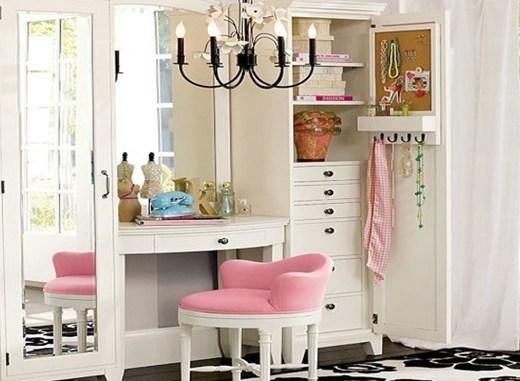 interieur make up hoekjes 14 - Interieur inspiratie | Make-up hoekjes