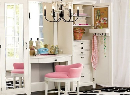 interieur make up hoekjes 14 - Interieur inspiratie | Make-up hoekjes