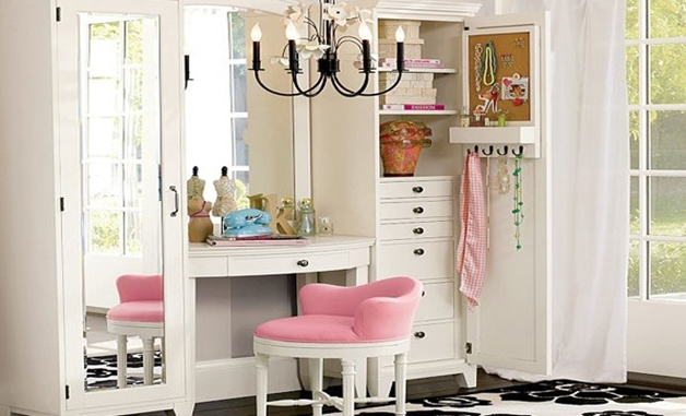 Make Up Stoel : Make up tafel stoel. elegant valeria gespiegelde makeup tafel van