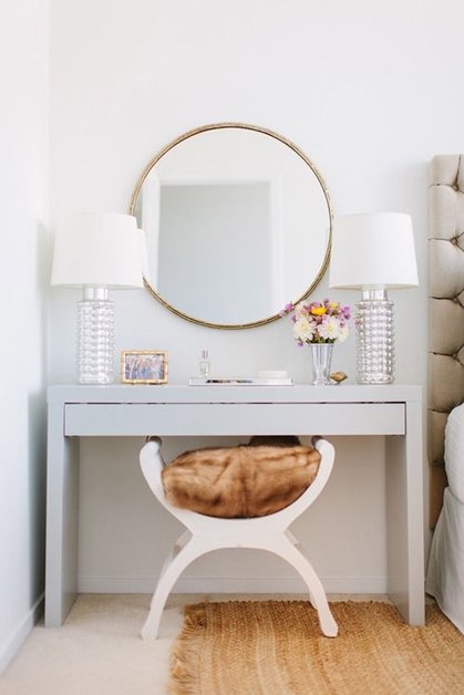 interieur make up hoekjes 4 - Interieur inspiratie | Make-up hoekjes