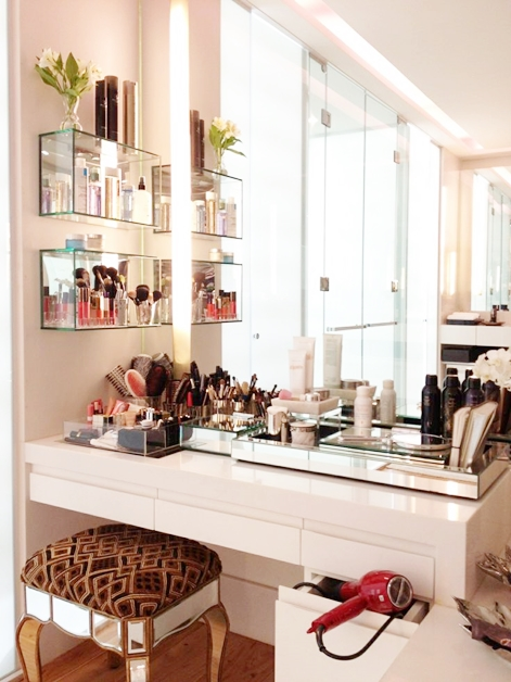 interieur make up hoekjes 6 - Interieur inspiratie | Make-up hoekjes