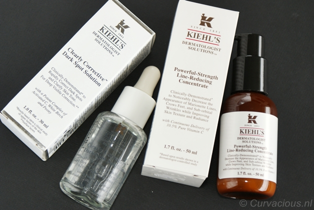 kiehlsvitaminc1 - Kiehl's | Clearly corrective dark spot solution & Powerful-strenght line-reducing concentrate