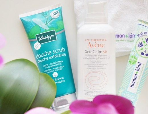 kneipp scrub avene cleansing oil human kind wash off facial cleanser 1 - Singing in the shower…   Kneipp, Avène & Human+Kind
