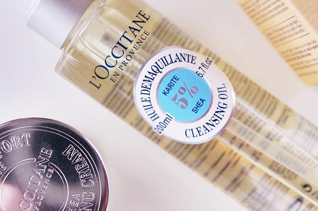 loccitane shea cleansing oil comforting cream light review 2 - L'Occitane Shea cleansing oil & comforting cream light