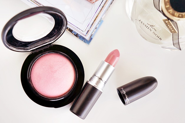 mac dainty mineralize blush creme cup cremesheen lipstick review swatches 1 - MAC Dainty & Crème Cup