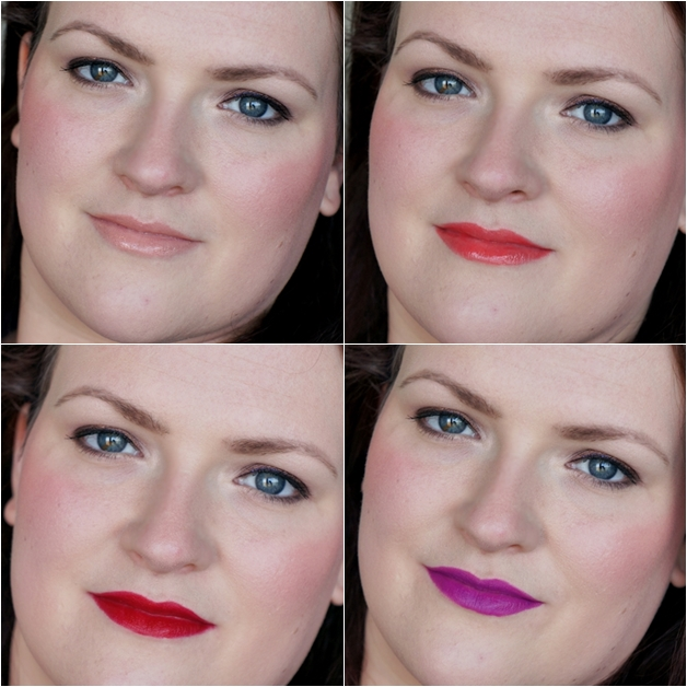 mac liquid passion ablaze runaway red heroine 4 - MAC | Heroine, Runaway Red, Ablaze & Liquid Passion