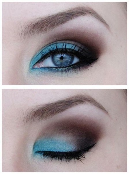 make up tips blauwe ogen 3 - Make-up tips voor blauwe ogen