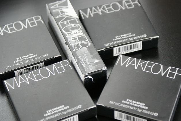 MakeOver International   Eye shadows & fresh gloss