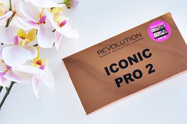 makeup revolution iconic pro 2 palette review swatches 1 - Makeup Revolution salvation palette iconic pro 2