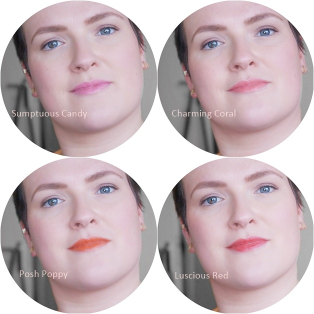 max factor colour intensifying balm review swatches 5 - Max Factor colour intensifying balms