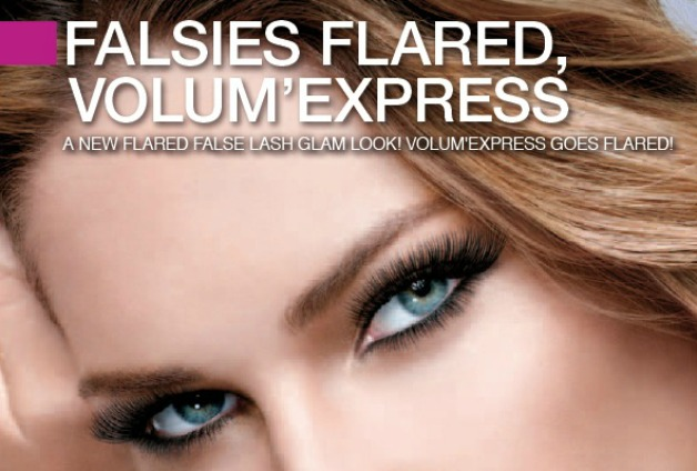 Newsflash! | Maybelline the falsies flared