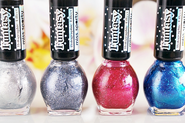 miss sporty funtasy holographic nail polish 2 - Miss Sporty funtasy holographic nail polish