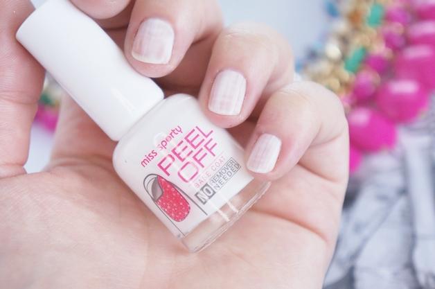 miss sporty peel off base coat crush on you nail polish 3 - Miss Sporty peel off base coat & crush on you nail polish