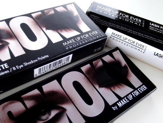 Make Up For Ever | Smoky Palette & Lash Fibres