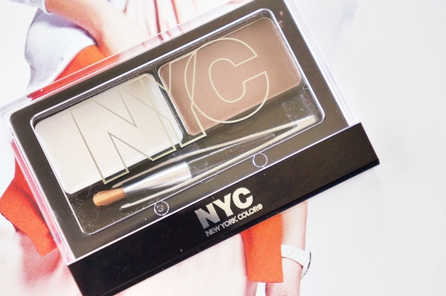 nyc browser brush on brow kit 1 - Budget tip | NYC browser brush-on brow kit