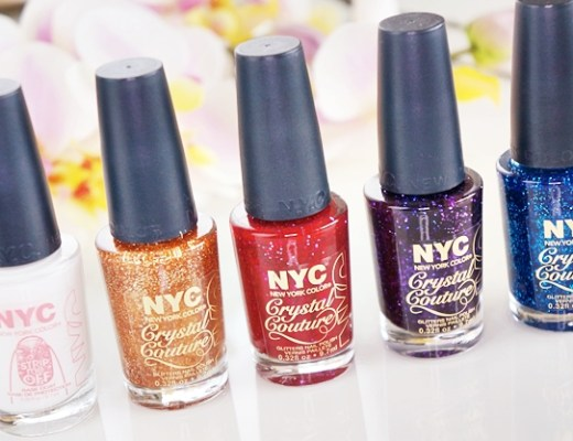 nyc strip me off base coat crystal couture nail polish 1 - NYC strip me off base coat & crystal couture nail polish