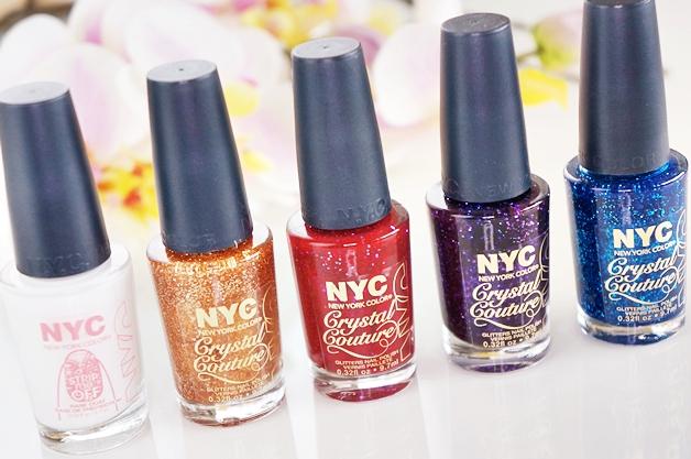 nyc strip me off base coat crystal couture nail polish 1 - NYC strip me off base coat & crystal couture nail polish