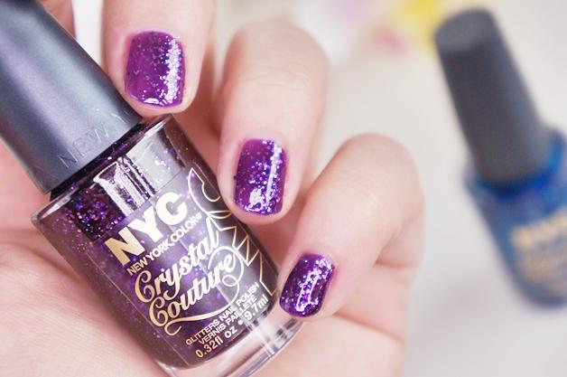 nyc strip me off base coat crystal couture nail polish 5 - NYC strip me off base coat & crystal couture nail polish