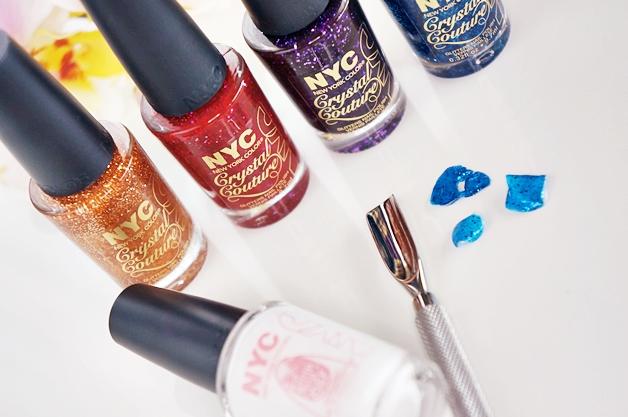 nyc strip me off base coat crystal couture nail polish 7 - NYC strip me off base coat & crystal couture nail polish