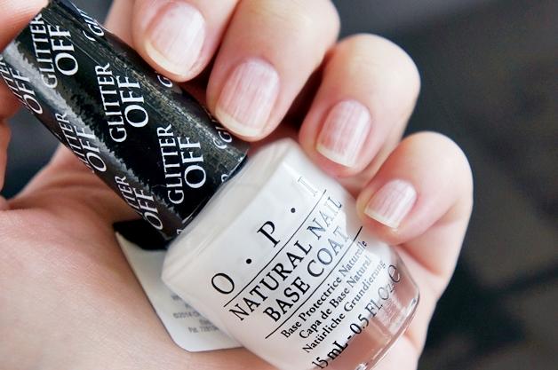 opi glitter off peelable base coat 2 - Favoriete beautyproducten maart 2014