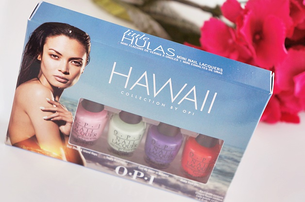 opi hawaii collection little hulas mini nail polish lacquers 1 - OPI Hawaii collectie | Little Hulas set