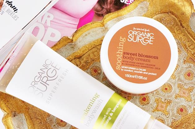 organic surge awakening bodywash sweet blossom body cream 1 - Organic Surge awakening bodywash & sweet blossom body cream