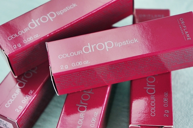 oriflame colour drop lipstick 1 - Oriflame colour drop lipsticks