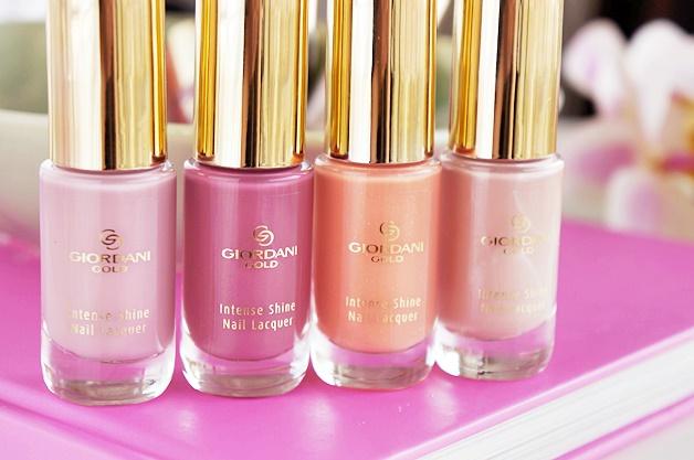 oriflame giordani gold intense shine nail lacquer swatches review 11 - Oriflame Giordani Gold intense shine nail lacquer collectie