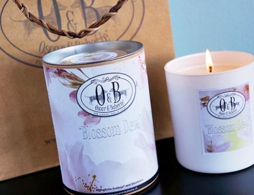 oscar babette blossom dew 2 - Cadeautip! | Oscar & Babette geurkaars Blossom Dew