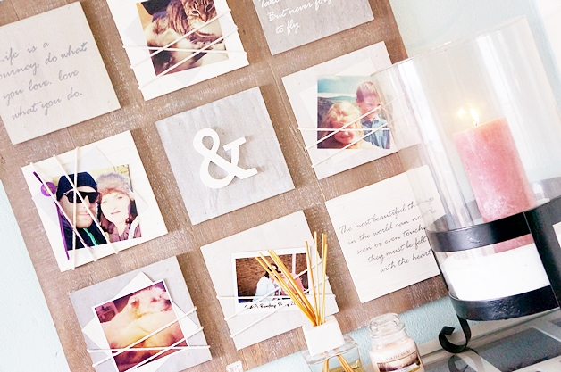 otto interieur fotolijst quotes 1 - Love it! | Wandbord met quotes & foto's