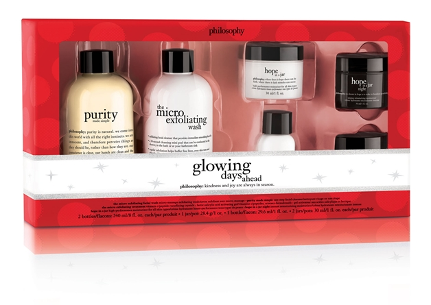 philosophy glowing days ahead - Philosophy merry & bright kerstcollectie 2014