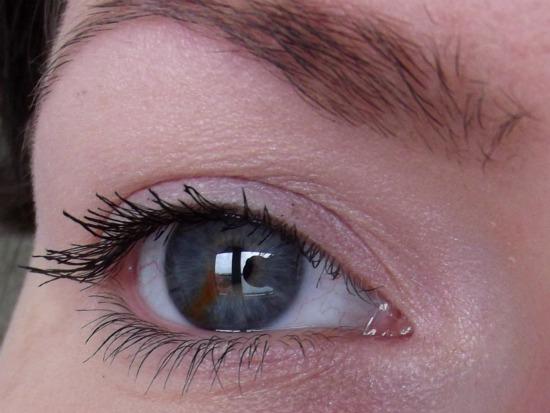 pinkladymakeupjuli9 - Lancaster mono eyeshadow Rose & Eveline Cosmetics gigantic volume turbo mascara